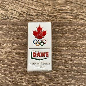 Chester Dawe Olympic Pin